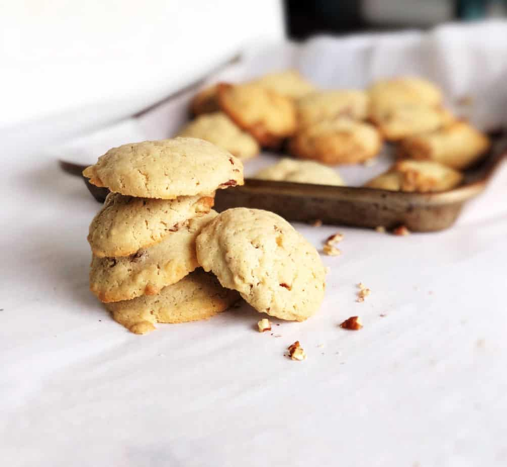 Butter Pecan Cookies (only 5 ingredients)